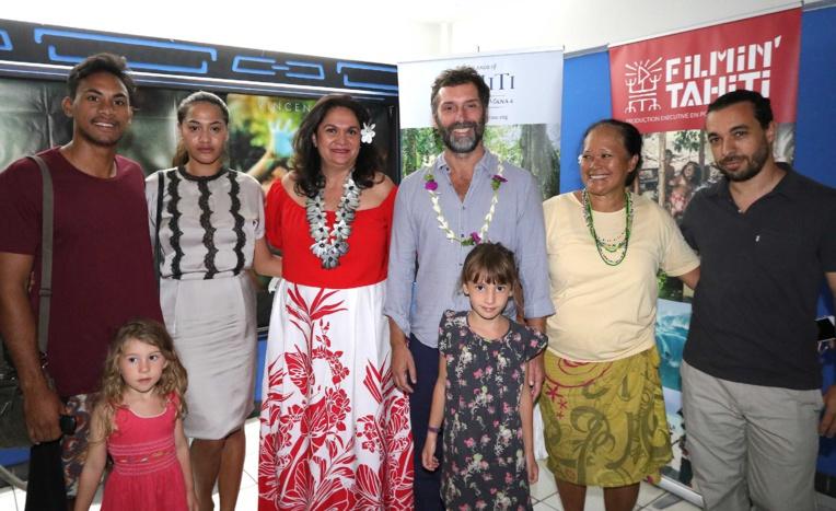 """La ministre du Tourisme à l'avant-première du film """"Gauguin"""""""