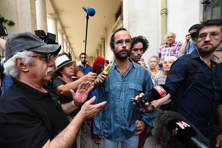 Migrants: le préfet assigne Cédric Herrou au tribunal pour une référence à l'Occupation