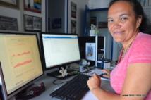 Victoire Laurent, responsable du bureau d'études et de climatologie de Météo-France à Tahiti.