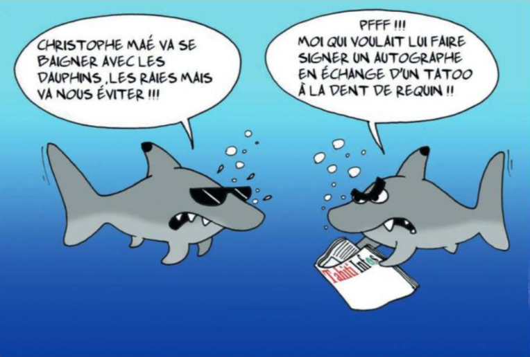 """ Christophe Maé en Polynésie "" par Munoz"