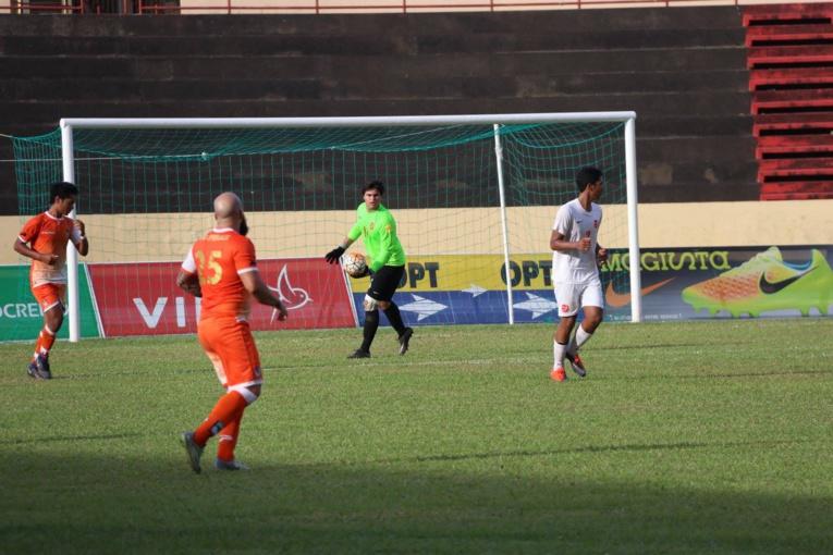 Le gardien de Tefana Moana Pito fait partie de la sélection U19