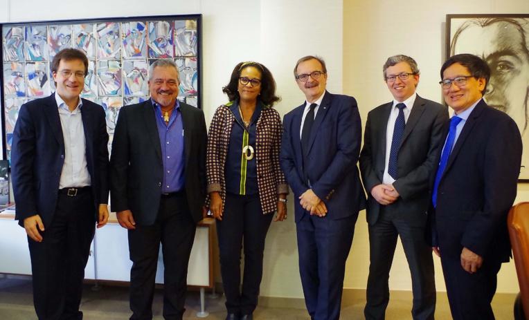 Heremoana Maamaatuaiahutapu reçu à la Commission de régulation de l'énergie