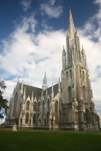 Aucun bâtiment moderne ne doit dépasser les flèches des églises et des temples. Ici, la First Church, qui culmine à 55 m de hauteur (elle date de 1867).