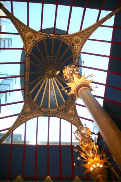 La verrière Arts déco du casino de Dunedin. Une petite merveille.