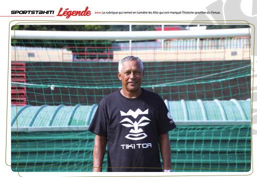 Errol Bennett, fier de porter le maillot des Tiki Toa