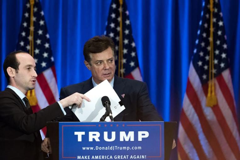 L'ex-directeur de campagne de Trump inculpé de complot contre les Etats-Unis
