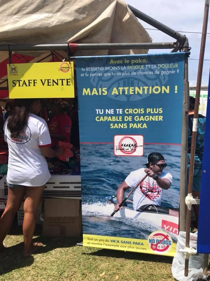 Hawaiki Nui Va'a 2017 - Alcool interdit à Matira et Vaitape