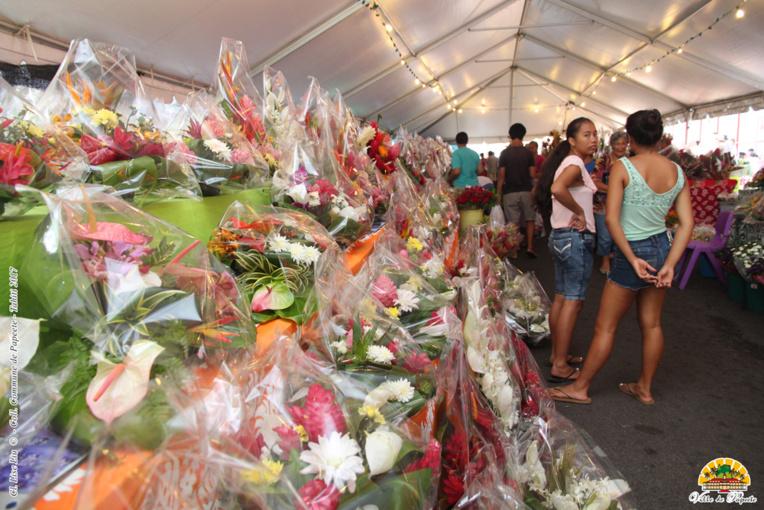 Les Floralies de Papeete ouvertes jusqu'à mercredi soir