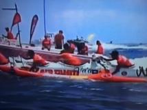 AIR TAHITI remporte la 1ère étape de l'Hawaiki Nui va'a