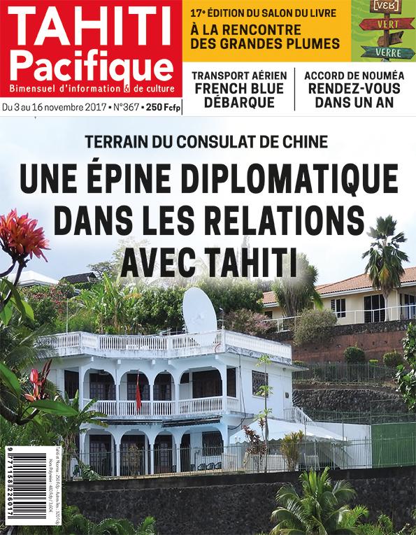 À la Une de Tahiti Pacifique, vendredi 3 novembre