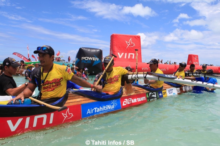 Encore une victoire à Hawaiki Nui Va'a pour Edt Va'a