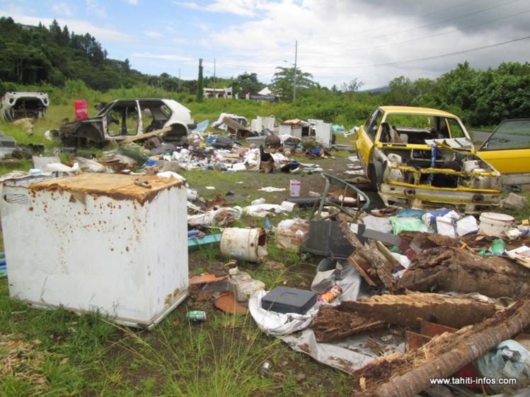 Deux dépotoirs sauvages à Papenoo doivent fermer