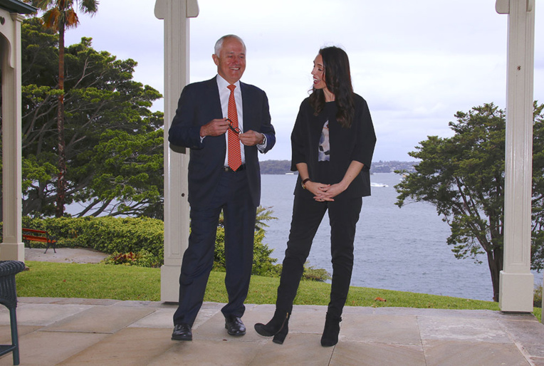 M. Turnbull a rencontré dimanche Mme Ardern pour la première fois.