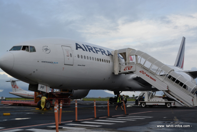 Greve chez Air France :  un premier vol annulé