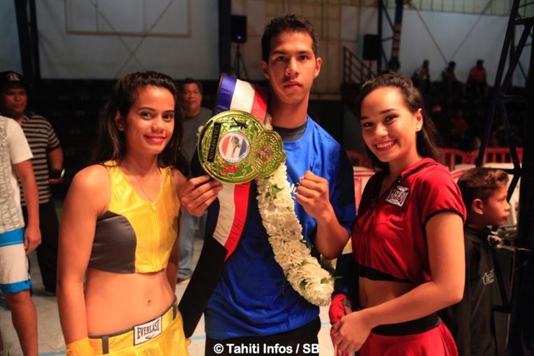 Tupuatea Grand Pittman fier d'avoir gagné sa ceinture