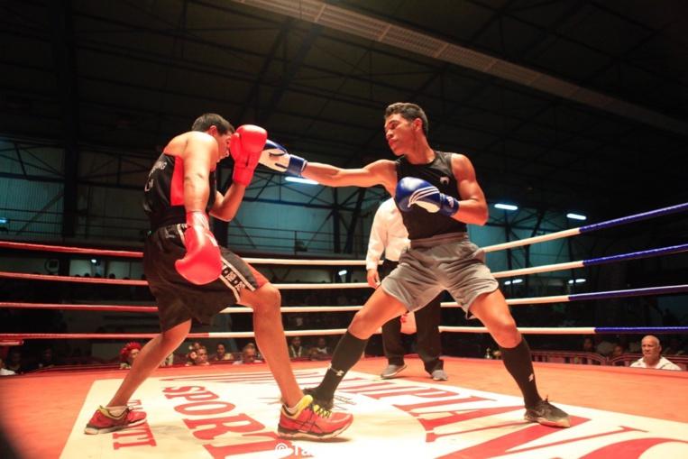 Belle victoire aux points de Tupuatea Grand Pittman, en rouge, du Moorea BC