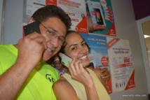 Heitiare Tribondeau a choisi un iPhone X silver, tandis que Vito Tapao a opté pour le gris très foncé.