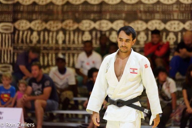 Gaston Lafon était le seul représentant polynésien présent aux championnats d'Océanie