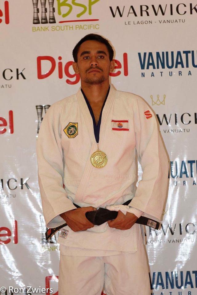 Judo – Championnats d'Océanie : Gaston Lafon, isolé et blessé, remporte l'or