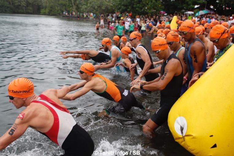 Le Triathlon allie natation, vélo et course à pied