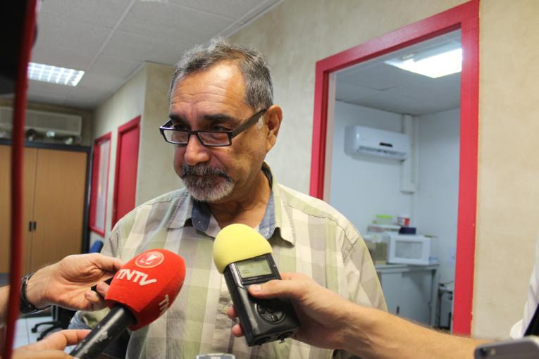 Angelo Frebault Secrétaire général de CSTP-FO