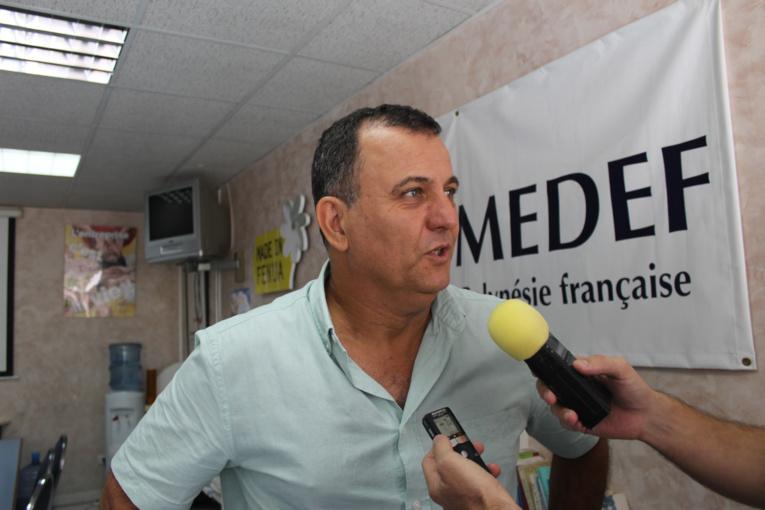 Olivier Kressmann,président du Medef