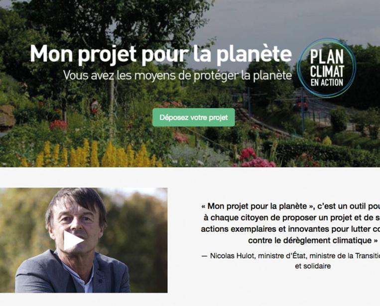 Climat: les Français invités à présenter leurs projets pour la planète