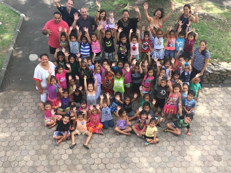 64 élèves de l'école maternelle de Ruatama ont visité, jeudi, le Conservatoire.