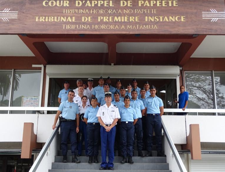 14 Gendarmes Adjoints Volontaires ont prêté serment