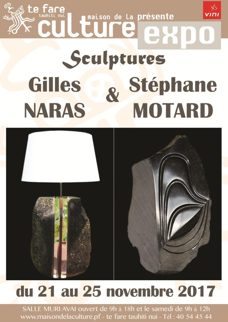 Gilles Naras et Stéphane Motard : Sculpture sur pierre