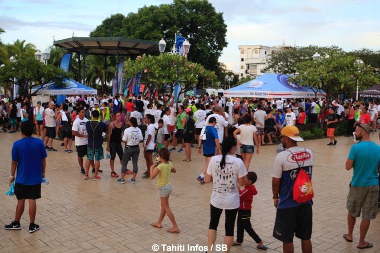 La course est devenue un évènement festif et populaire