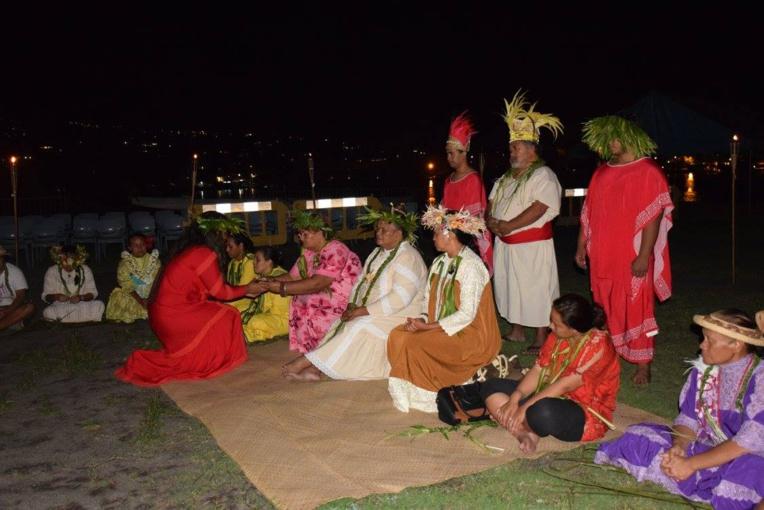 Pour ouvrir ces festivités, une cérémonie de kava a été organisée, vendredi soir.