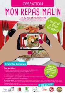 """Opération """"Mon repas malin"""" du 20 au 24 novembre"""