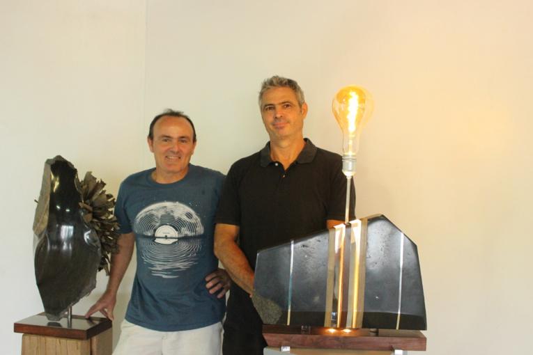 Les sculpteurs Gilles Naras et Stéphane Motard proposent une expo en duo