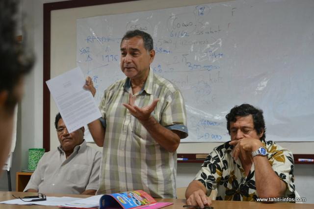 Le porte-parole de la Société civile, Angélo Frébault a annoncé le contenu de leurs discussions, ce mardi à la presse.