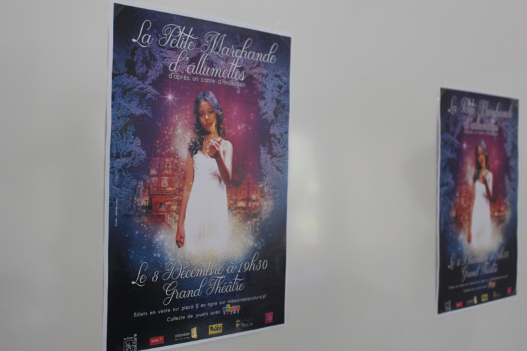 """""""La Petite marchande d'allumettes"""" : le spectacle de noël de la Maison de la culture"""