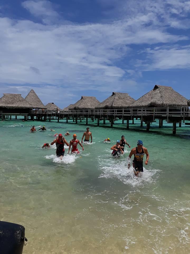 """Le triathlon """"nature"""" connait un succès grandissant en Polynésie"""