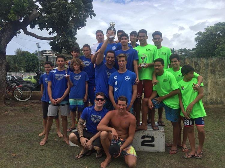 Le podium par équipe (garçons)
