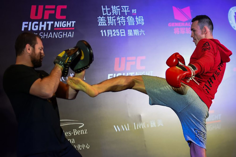 """Supermaman"" et ""La Sangsue"": les MMA s'installent en Chine"