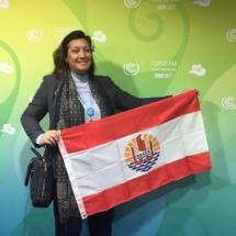 Maïna Sage lors de la COP 23
