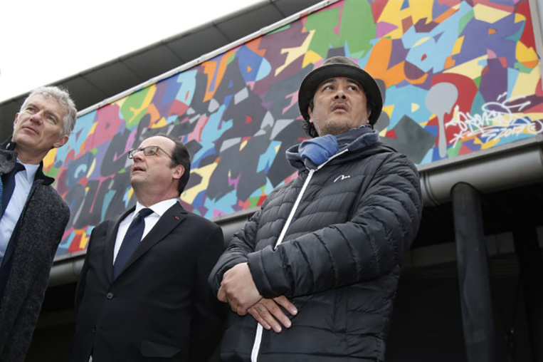 La Cité des Outre-mer était une promesse de campagne de François Hollande, qui l'avait officiellement lancée le 17 mars au parc de La Villette à Paris.