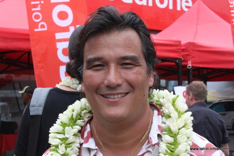 Patrick Moux, vice-président de Vodafone.