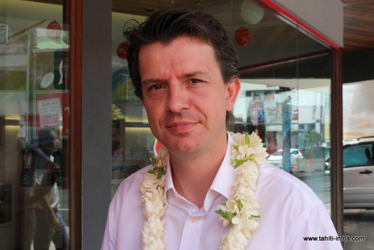 Thomas Lefebvre-Segard, directeur général de Vodafone.