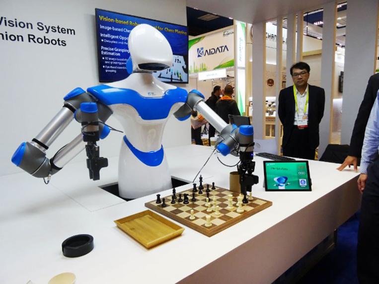 """Des muscles artificiels dotent les robots de """"super-pouvoirs"""""""