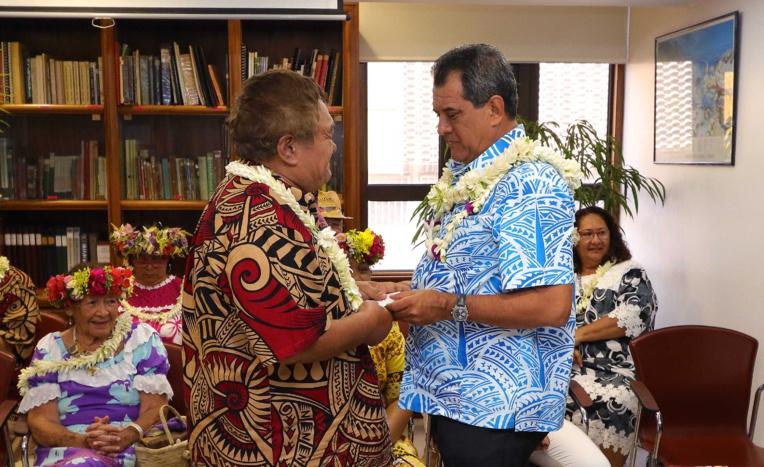 "Etetiera Tchong Tai a remporté le grand prix ""John Tāroanui Doom""."