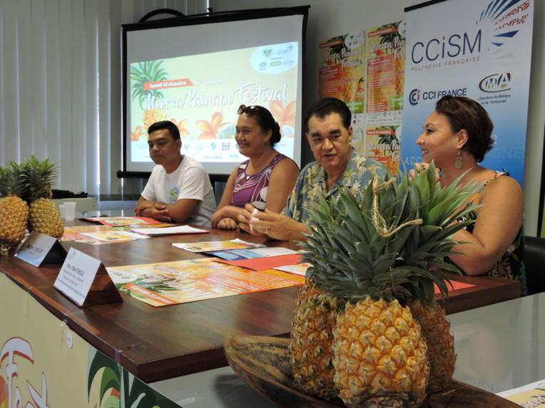 Le moment fort Moorea Painapo Festival devrait être la confection du plus grand gâteau à l'ananas du monde.