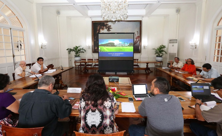 L'Egat se concentre sur l'activité du golf de Atimaono