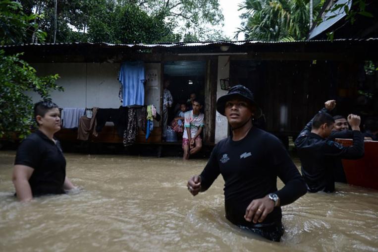 Des inondations en Thaïlande font cinq morts