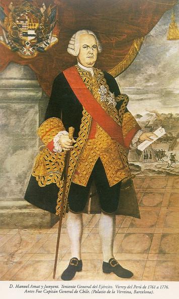 C'est le vice-roi du Pérou, Manuel de Amat y Junyent, qui décida d'organiser des expéditions espagnols dans ce qui s'appelait alors la « Mar del Sur ».