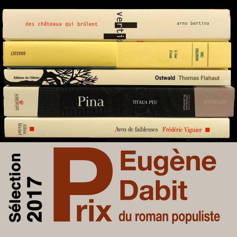 Titaua Peu, lauréat 2017 du prix Eugène Dabit pour son roman Pina
